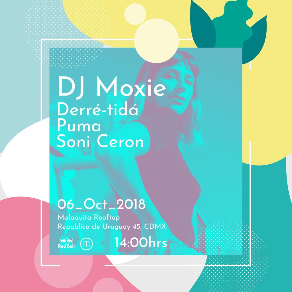 DJ Moxie Malaquita Rooftop